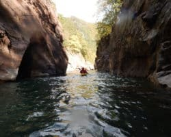 река белая гранитный каньон