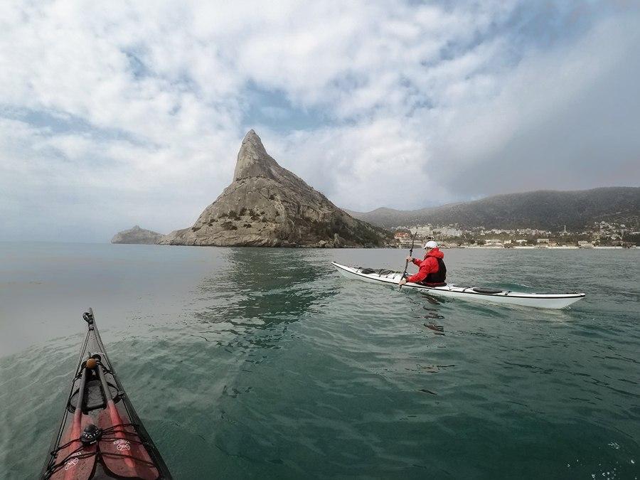 морской каякинг в крыму