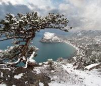 Крым в снегу