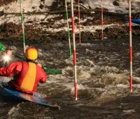 Бурные воды реки Пехорка