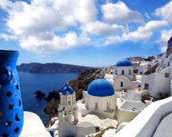 Синий и белый - цвета Кикладского архипелага