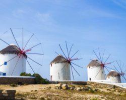 Волшебные мельницы острова Миконос
