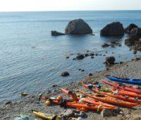 Крым на морских каяках
