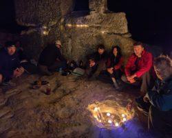 Ночь в пещерах