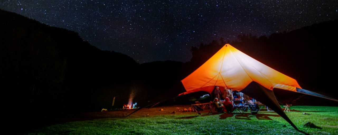 Каяк-лагерь на Аксауте